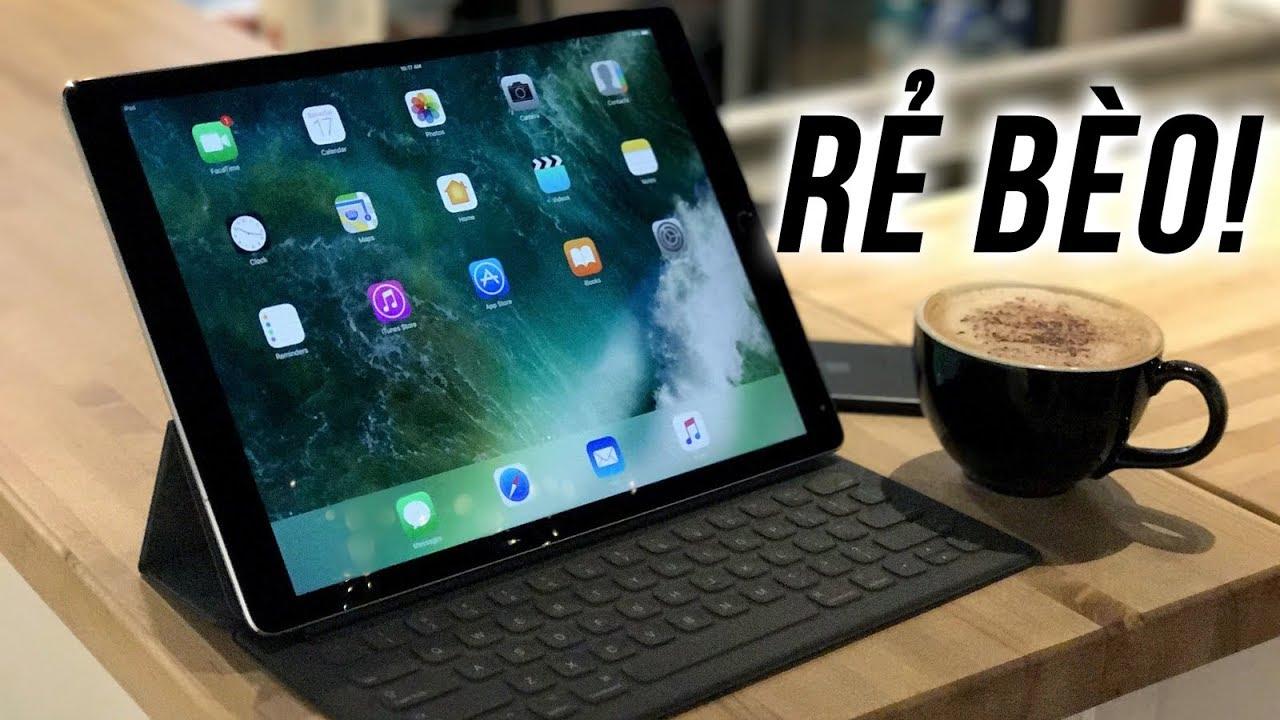 Trên... MẶT iPad Pro 12.9 khủng bố: Rẻ quá mua đã, làm gì tính sau!