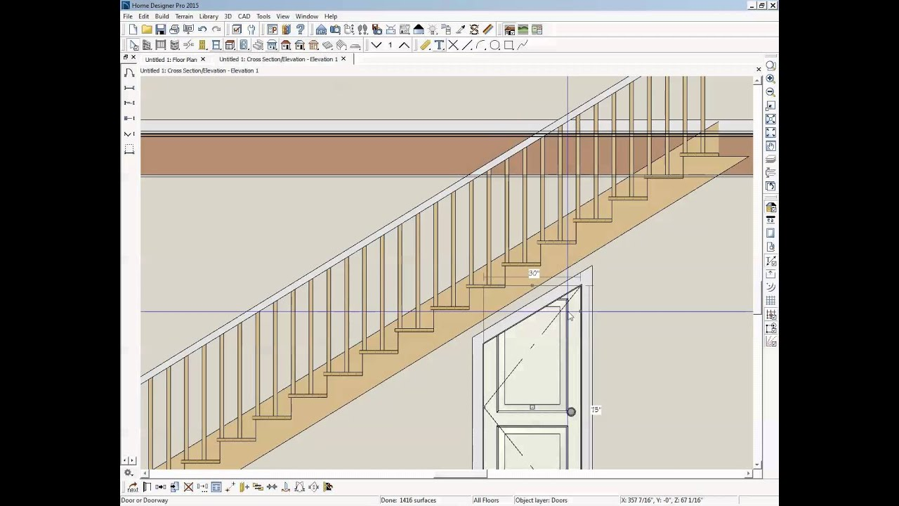 shaped doors under stairs