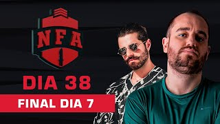 FREE FIRE AO VIVO - FINAL DIA 7 - LIGA NFA SEASON 4 - #NFAS4