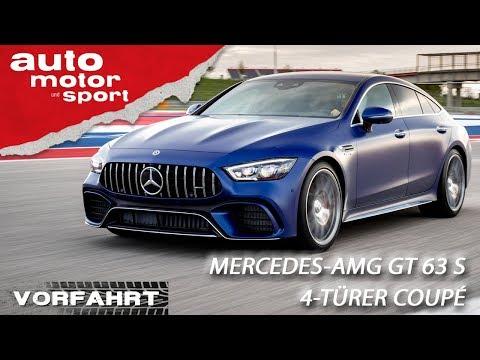 Mercedes-AMG GT 63 S 4-Türer Coupé: It`s Hammer-Time! | Vorfahrt (Review) | auto motor und sport