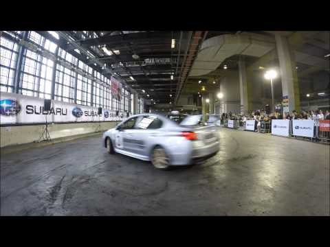 Subaru Stunt Performance by Russ Swift at Singapore Motorshow 2015