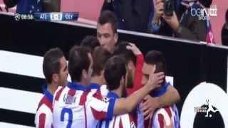 Video Gol Pertandingan Atletico Madrid vs Olympiakos Piraeus