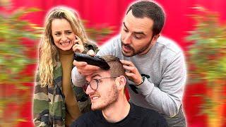 Benjamin devient le coiffeur officiel de Maison Grise ! (Lucas en stress)