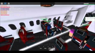 ROBLOX Qantas Economy Flight