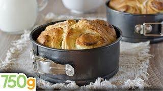Recette de Brioche feuilletée au beurre - 750 Grammes