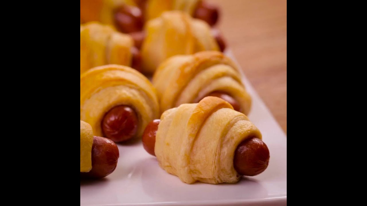 Pillsbury Crescent Hot Dogs