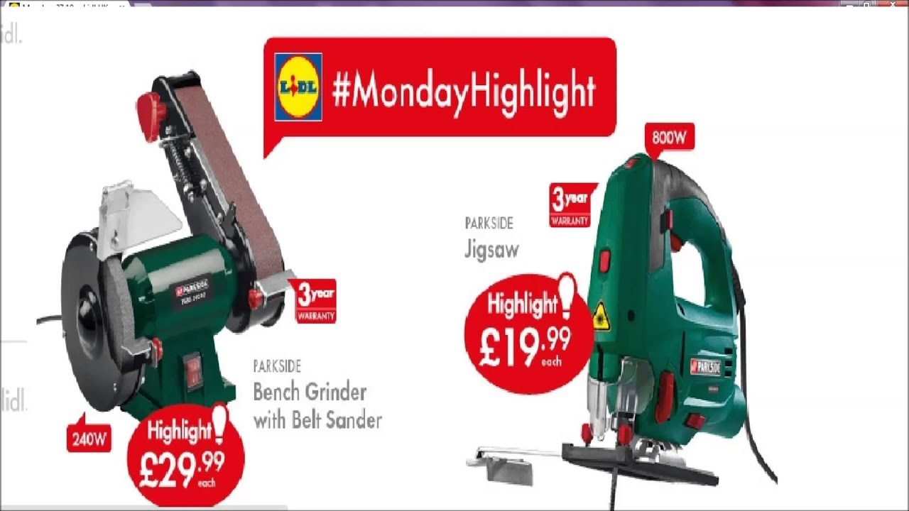 Lidl Hobby Belt Grinder This Week Youtube