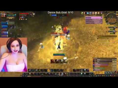 PinkSparkles playing WoW with OsmonPleb Part 1