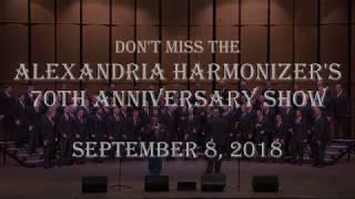 Harmonizer 70th Anniversary Show - Sept 8th