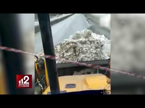 Тракторист засыпал снегом спрятанную за сугробом ГАИшную камеру!