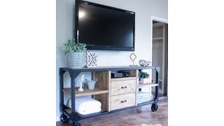 Good Looking Farmhouse Furniture TV Stand