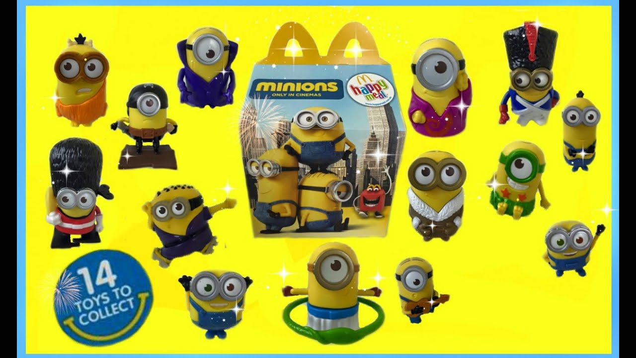 Despicable Me 3 Movie Mcdonalds Happy Meal Toys Coming ...