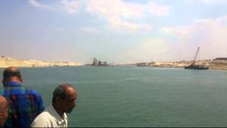 New Suez Canal: the central sector dredging in the June 1, 2015