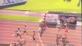 1993 Smokefree Athletics Christchurch Mens 100m