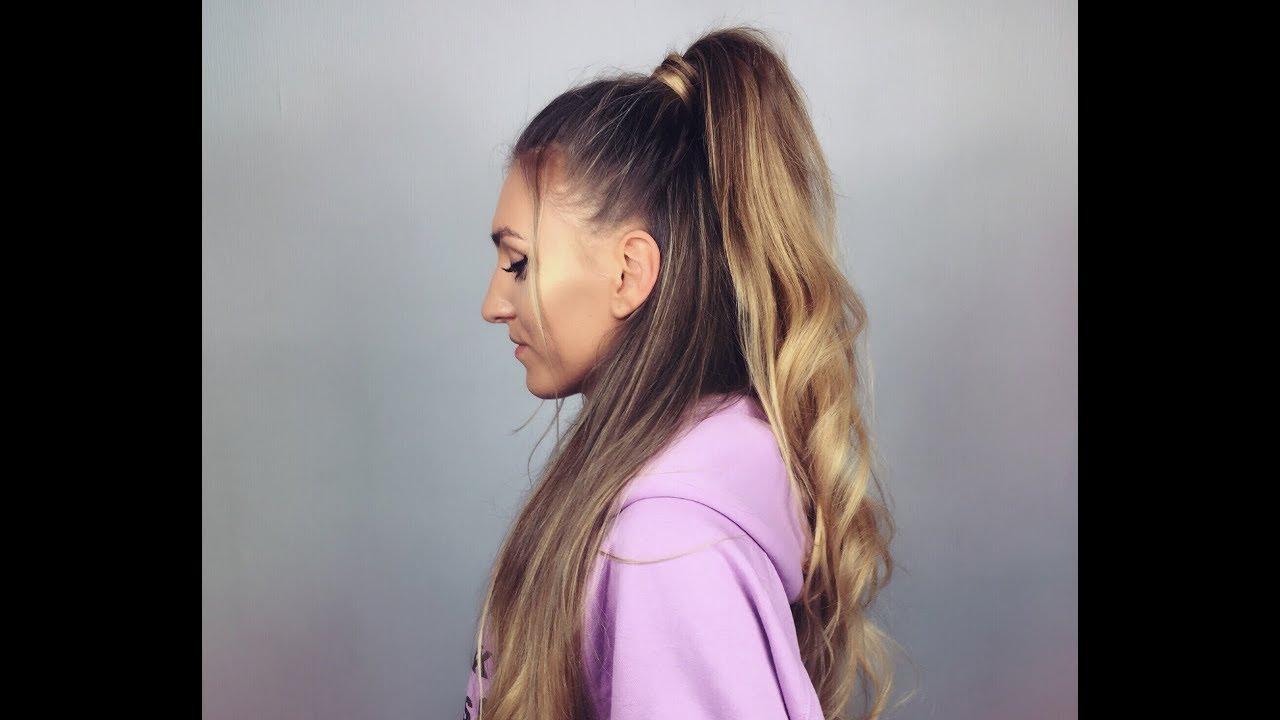 Ariana Grande Hair Tutorial Włosy Jak Ariana Ciaro Usago