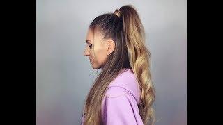 Ariana Grande Hair Tutorial ! ☆ Włosy jak Ariana !!! CiaRo UsaGo !✌