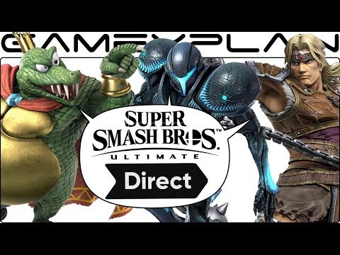 King K. Rool & Simon Belmont, Baby! Super Smash Bros. Ultimate Direct - DISCUSSION