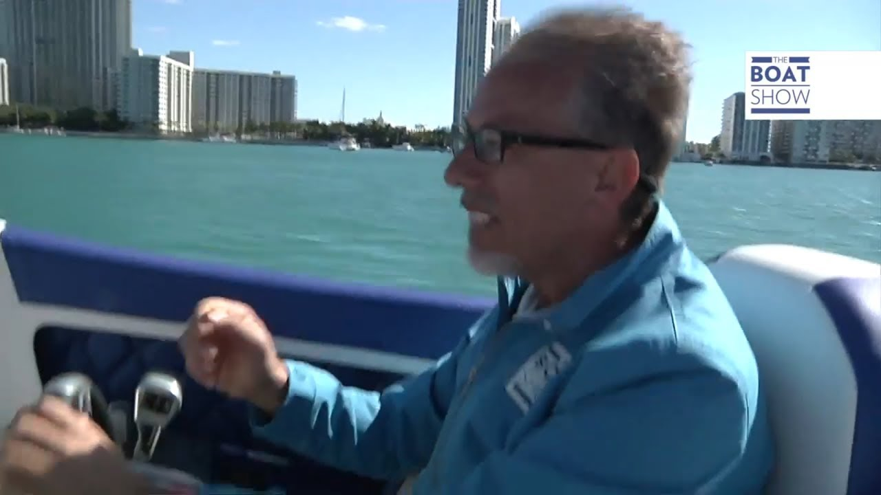 [ENG] Crazy run at 90 mph in Miami! OUTERLIMITS SL 36 - Review - The Boat  Show