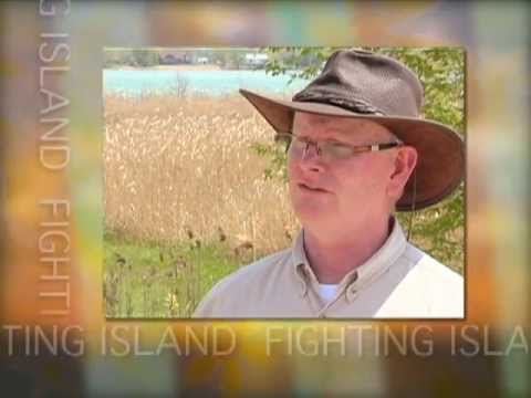 Fighting Island . . . an environmental partnership.