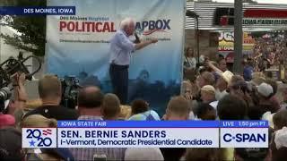 Bernie Sanders: Climate Change Is A Bigger National Security Threat Than Al Qaeda & Isis