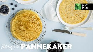 Pannekaker   MatPrat