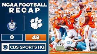 Citadel vs #1 Clemson: NCAA Football Recap | 09-19-2020 | CBS Sports HQ