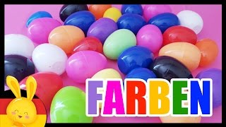 Farben lernen auf deutsch - Kinder Überraschung - unboxing - Titounis