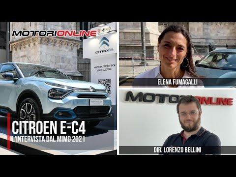 MiMo 2021 | INTERVISTA a ELENA FUMAGALLI, Resp. Comunicazione Citroën Italia