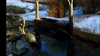 Кованые цапли художественная ковка птицы аисты из металла фото, видео