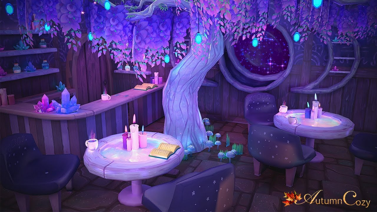 Witchy Coffee Shop Ambience: Relaxing Coffee Shop Sounds, Witchy Sounds for Sleeping