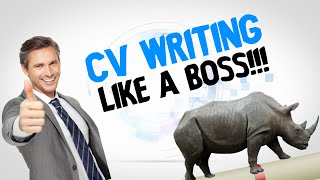 CV writing like a Boss!