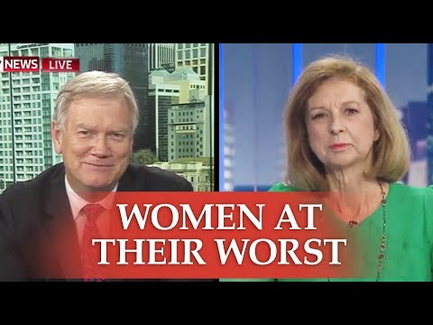 Bettina Arndt on how feminism fuels vindictive women – with Andrew Bolt on Sky news