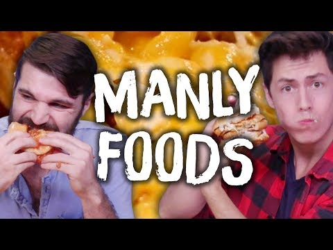 """Manliest"" Food Creations on the Internet?! (Cheat Day)"