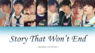 Stray Kids – 'Story That Won't End' (끝나지 않을 이야기) Extraordinary You OST Part 7 (LyricsHan/Rom/Eng)