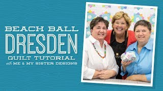 Make a Beach Ball Dresden with Jenny and Me & My Sister