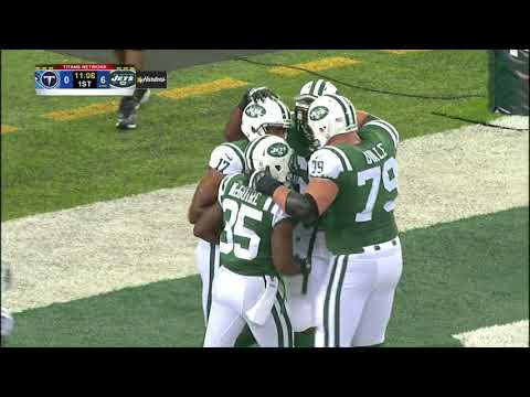 Josh McCown Touchdown Pass To Charone Peake |Jets vs Titans Preseason|