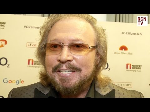 Bee Gees Barry Gibb Interview Silver Clef Awards 2016