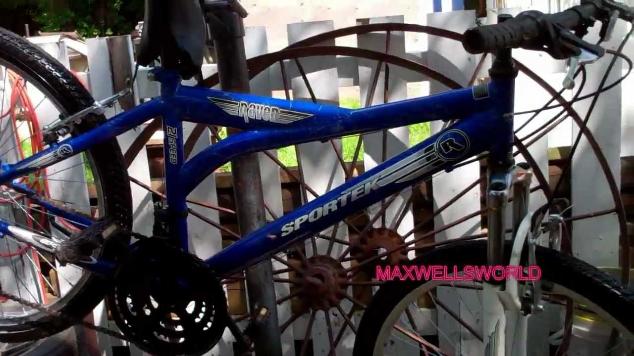 A Tune Up And Rebuild On A Sportek Raven 24 In 21 Speed Bike Maxwellsworld Youtube Designed to monitor, analyze and improve their athletic performance and training routes. youtube