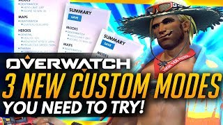 Overwatch | 3 New Custom Modes You NEED To Try!