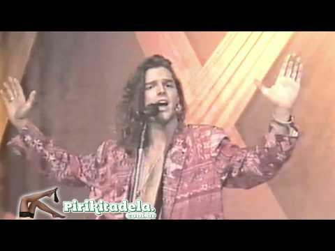 Ricky Martin no programa Milk Shake - 1992