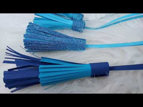 How to make tassels #beautiful #delicate #DIY #papers #handmade #gifttags #jewellery #decorations
