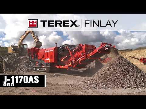 Terex Finlay J-1170AS Impact Crusher | OPS Screening & Crushing