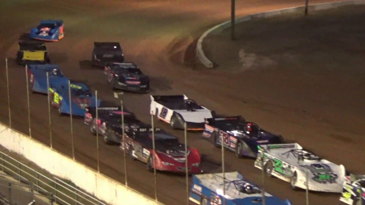 01/11/2020 602 All Star Late Model Series Feature- 23 cars started and 13 finished