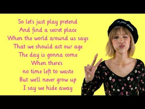 Grace VanderWaal - Hideaway [Lyrics] (Wonder Park Soundtrack) Mp3