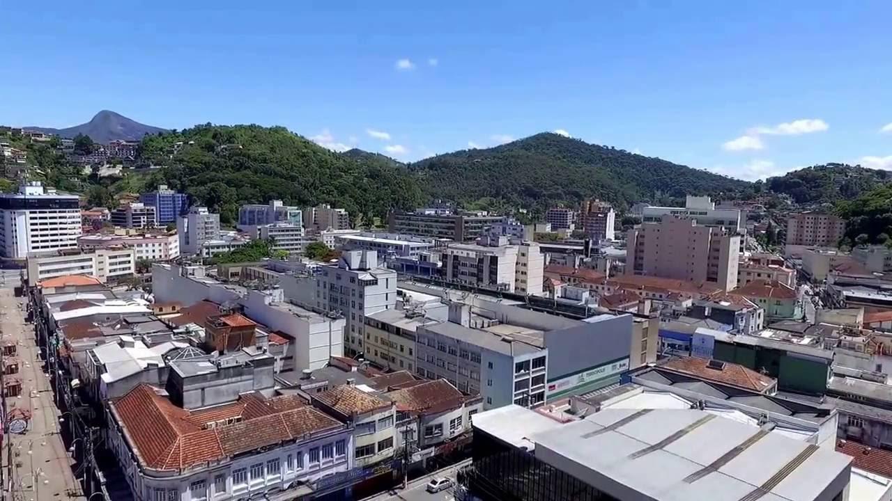 Phantom 3 Pro em Teresópolis - centro da cidade. - YouTube