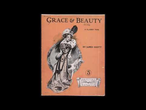 James Scott - Grace and Beauty (1909) [HQ] + Sheet Music