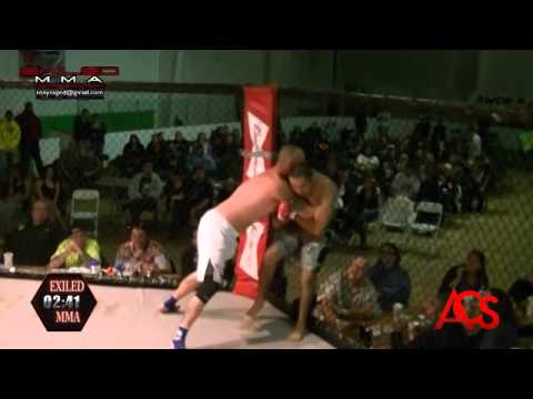 EXILED MMA and ACSLive.TV PRESENTS Louis Caves Vs Robert Guerra