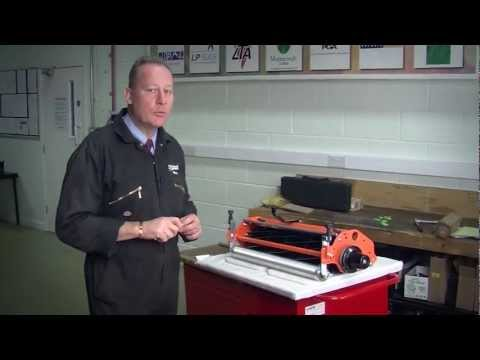 How to set-up the Jacobsen Greens Unit