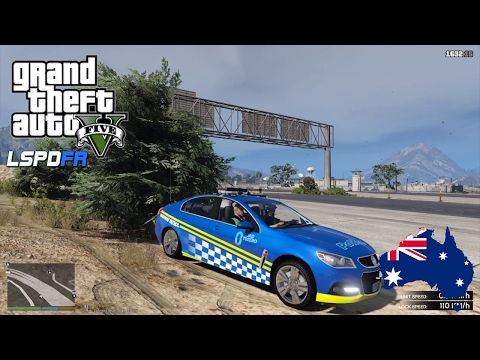 GTA 5 - LSPDFR Australia - VICPOL Road To Zero Highway Patrol (GTA 5 Police Mod for PC)