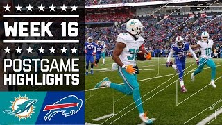 Dolphins vs. Bills | NFL Week 16 Game Highlights